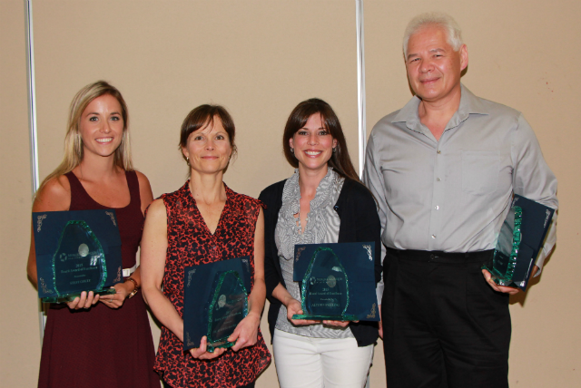 2015 Board Award of Excellence recipients