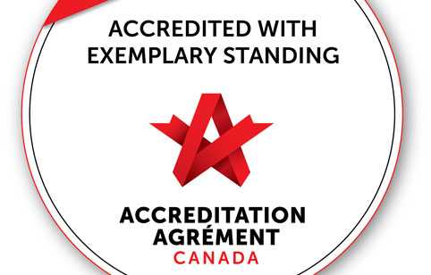 accredited with exemplary standing award