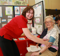 MAHC's District Stroke Nurse provides education in the community